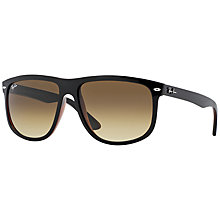 Buy Ray-Ban RB4147 Square Plastic Frame Sunglasses Online at johnlewis.com