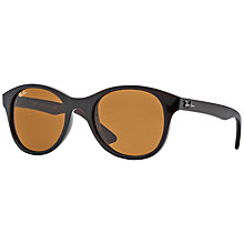Buy Ray-Ban 0RB4203 Round Frame Sunglasses Online at johnlewis.com