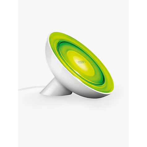 Buy Philips Friends of Hue LivingColors Bloom Colour Changing LED Mood Light, White Online at johnlewis.com