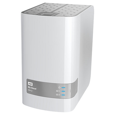 Buy WD My Cloud Mirror, Personal Cloud Storage & Network Attached Storage Drive, 4TB Online at johnlewis.com