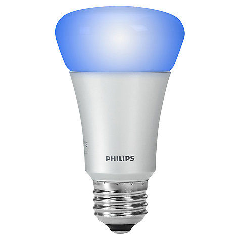 Buy Philips Hue 9W ES Connected Bulb, Multi Online at johnlewis.com
