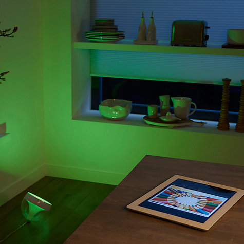 Buy Philips Friends of Hue LivingColors Iris Colour Changing LED Mood Light Starter Kit, Clear Online at johnlewis.com