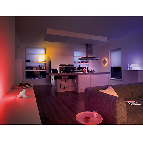 Buy Philips Friends of Hue LightStrips Colour Changing LED Lights Starter Pack Online at johnlewis.com