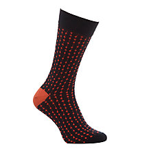 Buy John Lewis Kinetic Dot Socks, Pack of 2, One Size Online at johnlewis.com