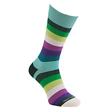 Buy Smart Turnout Multi Striped Socks, One Size Online at johnlewis.com