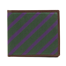 Buy Smart Turnout Striped Leather Wallet Online at johnlewis.com