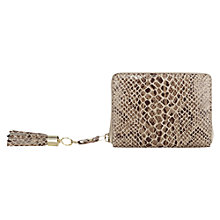 Buy Oasis Small Zip Purse, Multi Brown Online at johnlewis.com