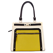 Buy Oasis Tallulah Metal Corner Tote Handbag, Multi Online at johnlewis.com
