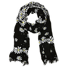 Buy Oasis Scattered Daisy Print Scarf, Multi Online at johnlewis.com