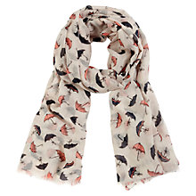 Buy Oasis Deco Parasol Scarf, Neutral Online at johnlewis.com
