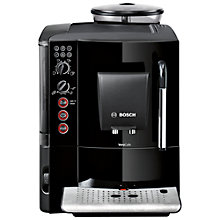 Buy Bosch TES50129GB VeroCafe Bean-to-Cup Coffee Machine, Black Online at johnlewis.com