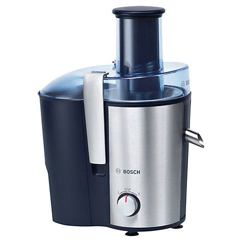 Buy Bosch MES3000GB Juice Extractor, Blue/Silver Online at johnlewis.com