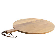 Buy Nkuku Mango Wood Pizza / Chopping Board, Medium Online at johnlewis.com
