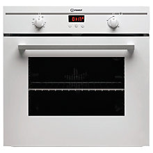 Buy Indesit FIM33KAWH Single Electric Oven, White Online at johnlewis.com