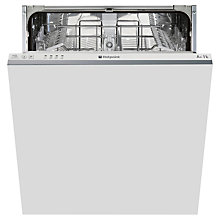 Buy Hotpoint LTB4M116UK Fully Integrated Dishwasher Online at johnlewis.com