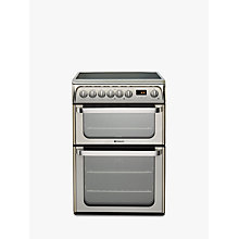 Buy Hotpoint HUE61XS Electric Cooker, Stainless Steel Online at johnlewis.com