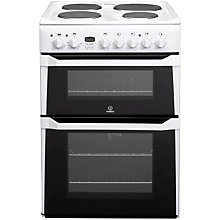 Buy Indesit ID60E2WS Electric Cooker, White Online at johnlewis.com