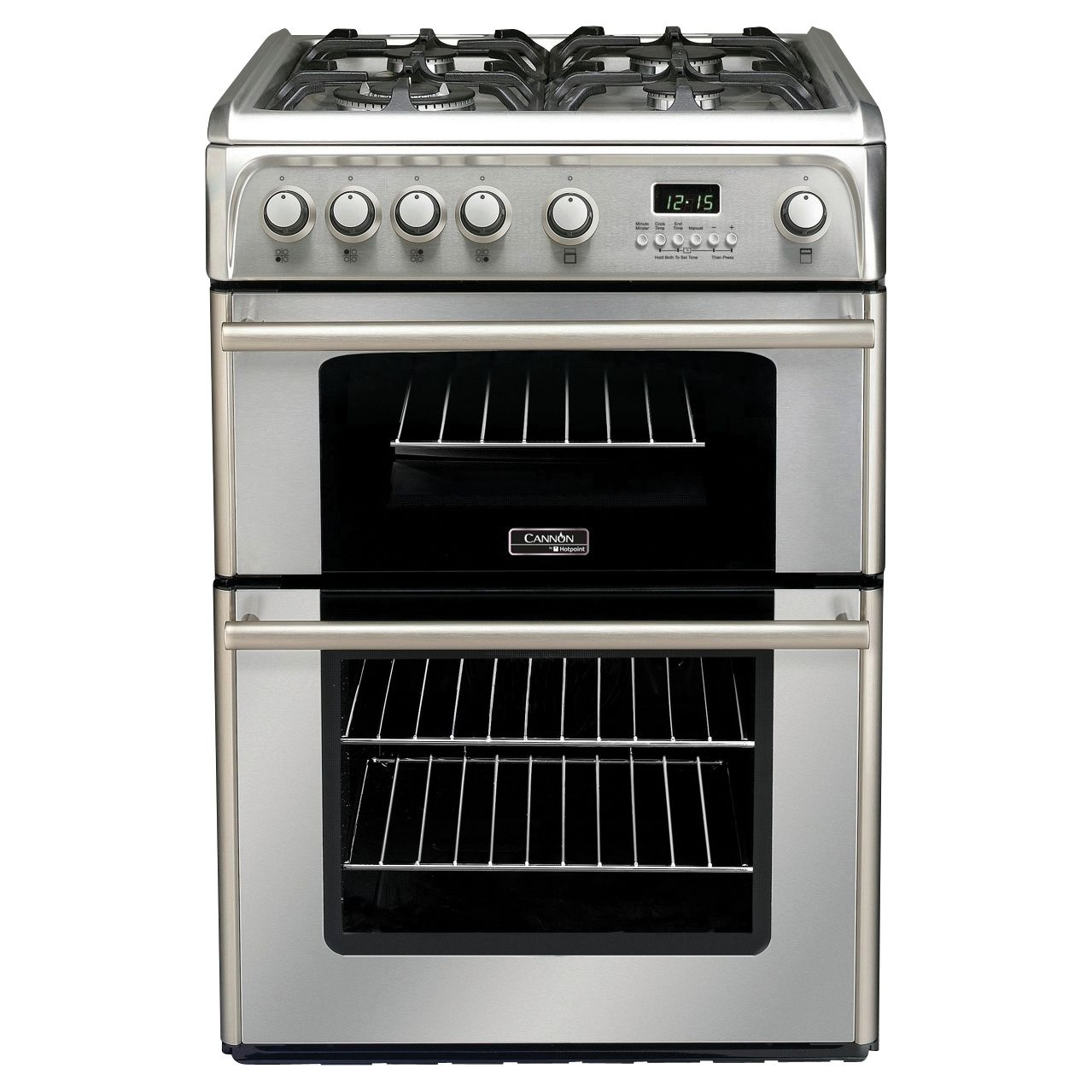 Hotpoint Cannon CH60GP Gas Cooker Stainless Steel