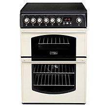 Buy Hotpoint Cannon CH60ETCS Electric Cooker, Cream Online at johnlewis.com