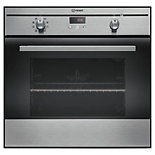Buy Indesit FIM88KGP.AIXS Single Electric Oven, Inox Online at johnlewis.com