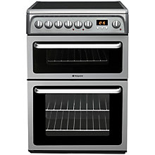 Buy Hotpoint HAE60GS Electric Cooker, Graphite Online at johnlewis.com
