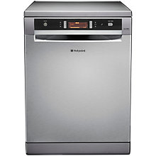 Buy Hotpoint FDUD43133X Freestanding Dishwasher, Inox Online at johnlewis.com