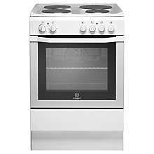 Buy Indesit I6EVAW Electric Cooker, White Online at johnlewis.com