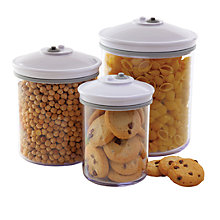 Buy FoodSaver Set of 3 Canister Set Online at johnlewis.com