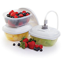 Buy FoodSaver T020-00024 Set of 3 24-Ounce Lunch-and-Leftover Containers Online at johnlewis.com
