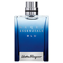 Buy Ferragamo Acqua Essenziale Blu Eau de Toilette Online at johnlewis.com