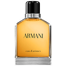 Buy ARMANI Eau d'Arômes Eau de Toilette Online at johnlewis.com