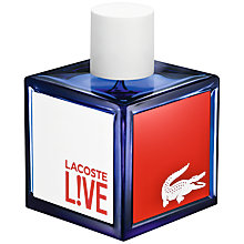 Buy Lacoste L!ve Pour Homme Eau de Toilette, 100ml Online at johnlewis.com