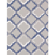 Buy Osborne & Little Quatrefoil Wallpaper Online at johnlewis.com