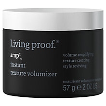 Buy Living Proof Amp Instant Texture Volumiser, 57g Online at johnlewis.com