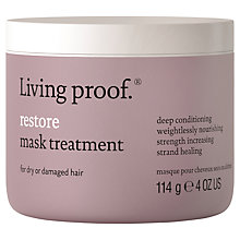 Buy Living Proof Restore Mask Treatment, 114g Online at johnlewis.com