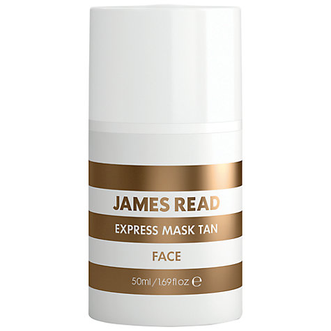 Buy James Read Express Tan Face Mask, 50ml Online at johnlewis.com