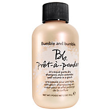 Buy Bumble and bumble Pret-a-Powder, 56g Online at johnlewis.com