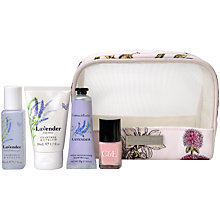 Buy Crabtree & Evelyn Lavender Travel Set Online at johnlewis.com