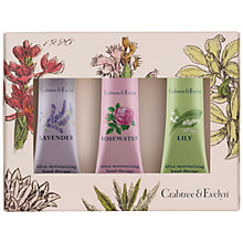 Buy Crabtree & Evelyn Floral Hand Therapy Collection, 3 x 25ml Online at johnlewis.com