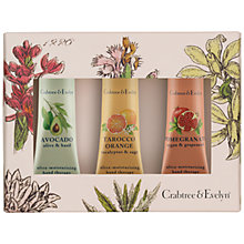 Buy Crabtree & Evelyn Botanicals Hand Therapy Collection, 3 x 25g Online at johnlewis.com