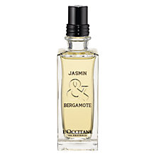 Buy L'Occitane Jasmin & Bergamote Eau de Toilette, 75ml Online at johnlewis.com