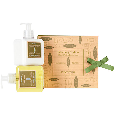 Buy L'Occitane Verbena Hand Wash & Lotion Duo Online at johnlewis.com