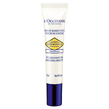 Buy L'Occitane Immortelle Eye Care & Mask Duo Brightening Correction, 15ml Online at johnlewis.com