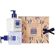 Buy L'Occitane Lavender Hand Wash & Lotion Online at johnlewis.com