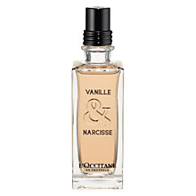 Buy L'Occitane Vanille & Narcisse Eau de Toilette, 75ml Online at johnlewis.com