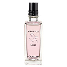 Buy L'Occitane Magnolia & Mûre Eau de Toilette, 75ml Online at johnlewis.com