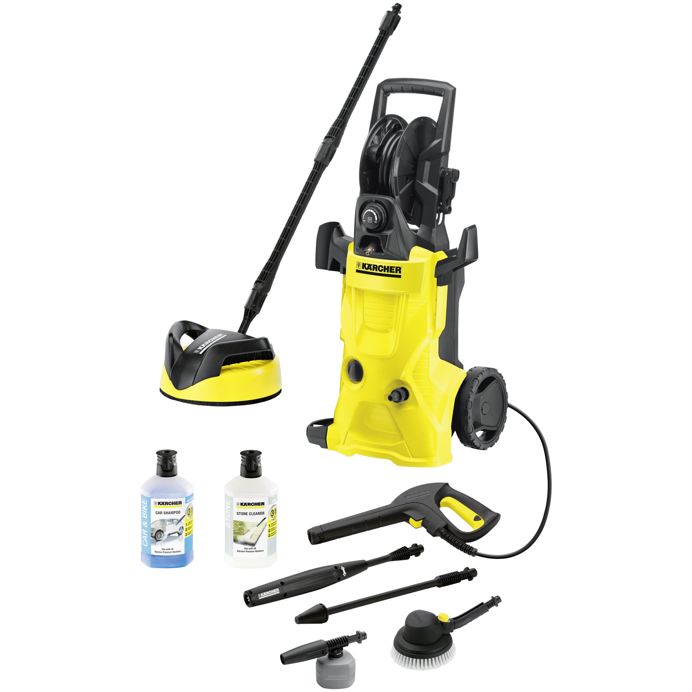 Kärcher K4 Premium Eco!logic Home with Car Kit Pressure Washer