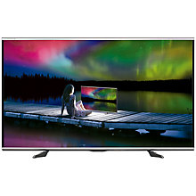 "Buy Sharp Aquos LC70UQ10 LED 1080p Full HD 3D 4K Compatible Smart TV, 70"" with Freeview HD & 2x 3D Glasses Online at johnlewis.com"
