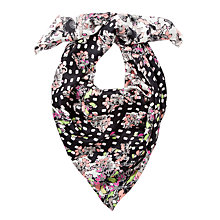 Buy Somerset by Alice Temperley Winter Floral Silk Square Scarf, Multi Online at johnlewis.com