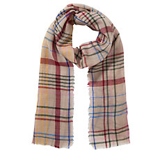 Buy Collection WEEKEND by John Lewis Woven Check Print Scarf Online at johnlewis.com